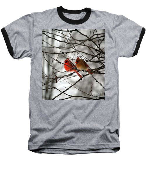True Love Cardinal Baseball T-Shirt