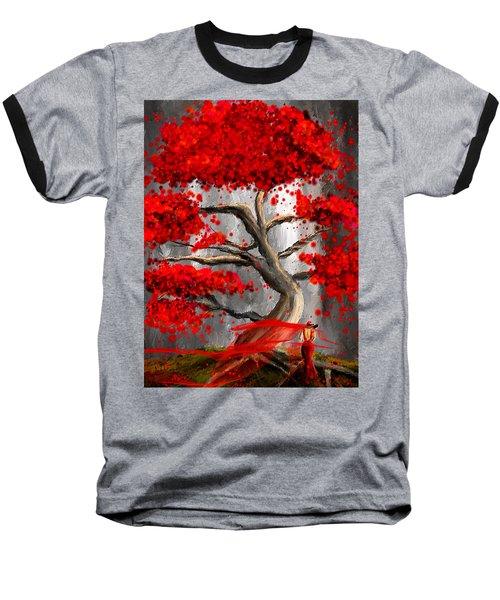 True Love Waits - Red And Gray Art Baseball T-Shirt