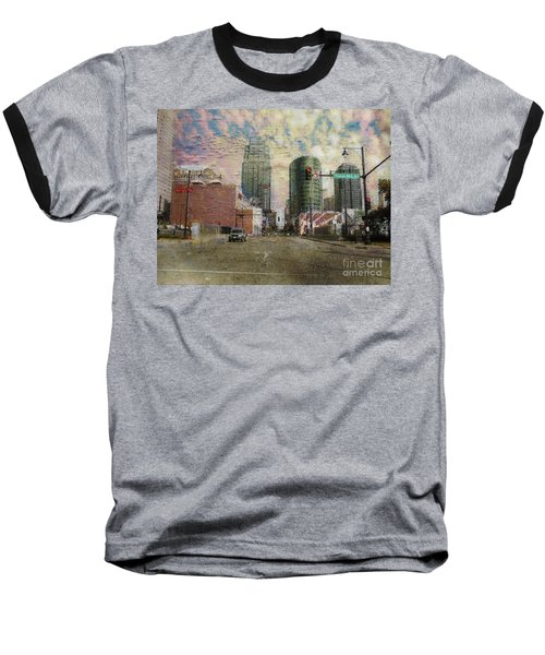 Baseball T-Shirt featuring the photograph Truman Road Kansas City Missouri by Liane Wright