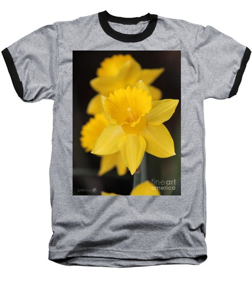 Trumpet Daffodil Named Exception Baseball T-Shirt