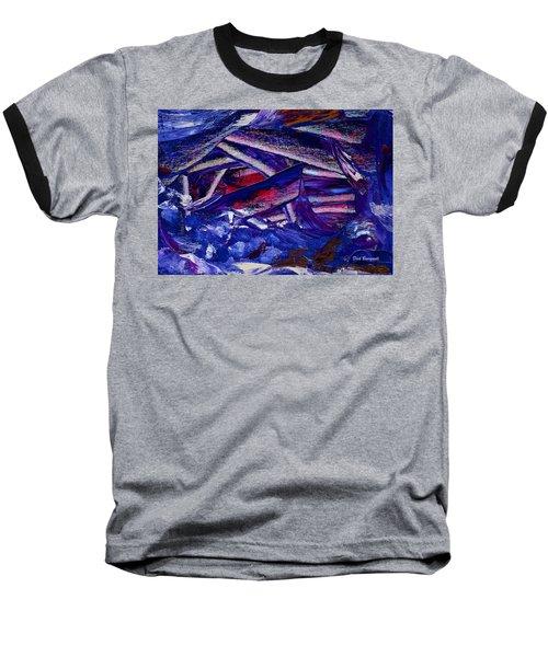 Tsunami Baseball T-Shirt by Dick Bourgault