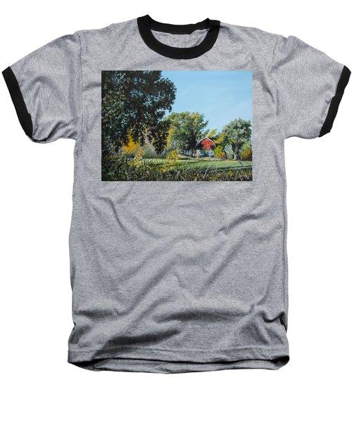 Tucked Away Baseball T-Shirt