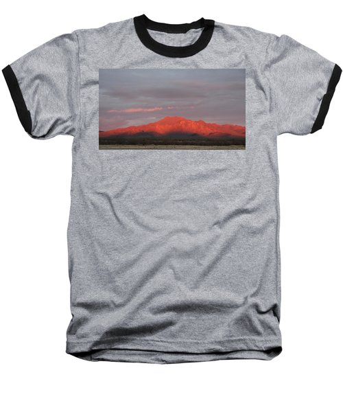 Baseball T-Shirt featuring the photograph Tucson Mountains by David S Reynolds