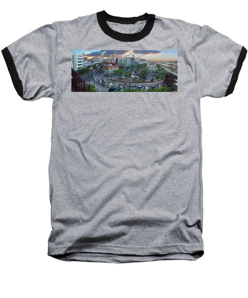 Tucson Streetcar Sunset Baseball T-Shirt