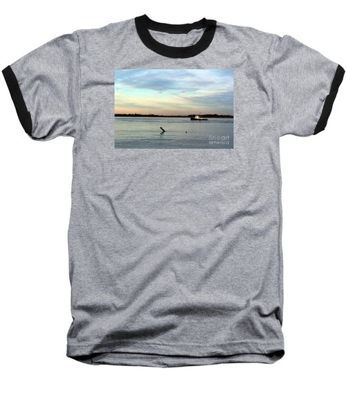 Baseball T-Shirt featuring the photograph Tug Boat by David Jackson