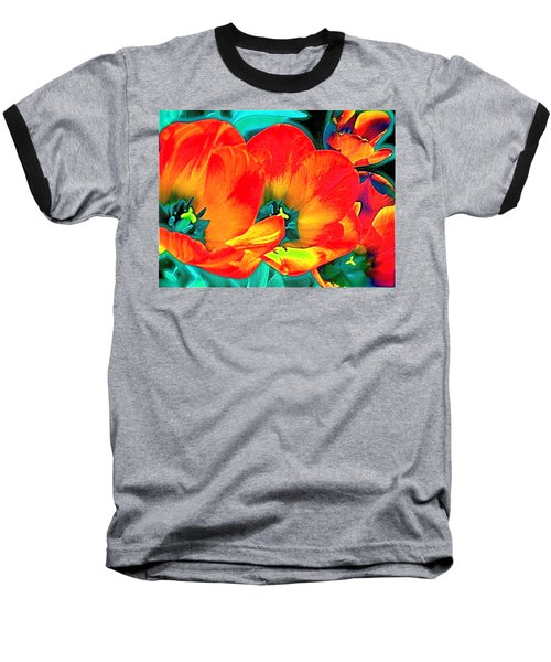 Baseball T-Shirt featuring the photograph Tulip 1 by Pamela Cooper