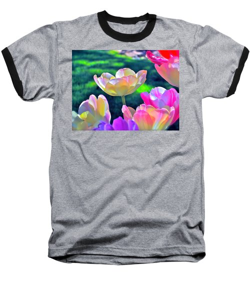 Tulip 21 Baseball T-Shirt