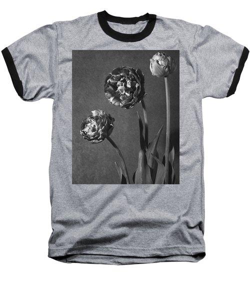Tulip Pensee Roses Baseball T-Shirt