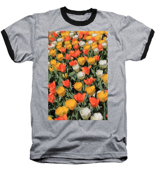 Tulip Stretch Baseball T-Shirt