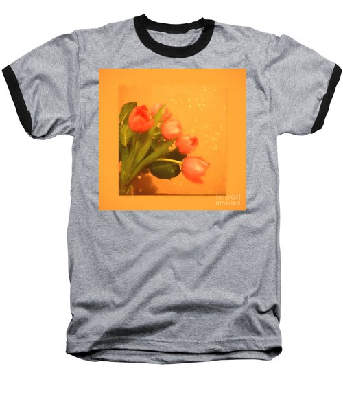 Tulips Duvet Baseball T-Shirt