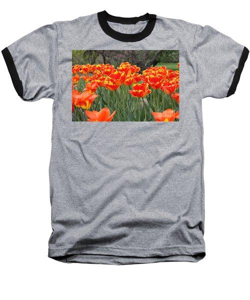 Tulips From Brooklyn Baseball T-Shirt