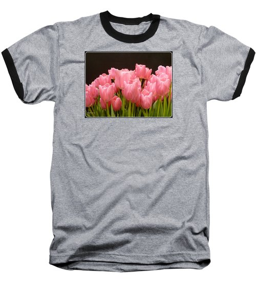 Baseball T-Shirt featuring the photograph Tulips In Bloom by Lingfai Leung