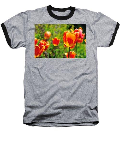 Baseball T-Shirt featuring the photograph Tulips by Joe  Ng