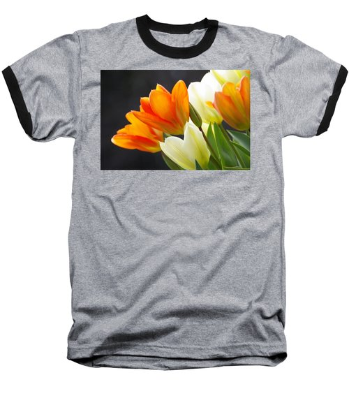 Baseball T-Shirt featuring the photograph Tulips by Marilyn Wilson
