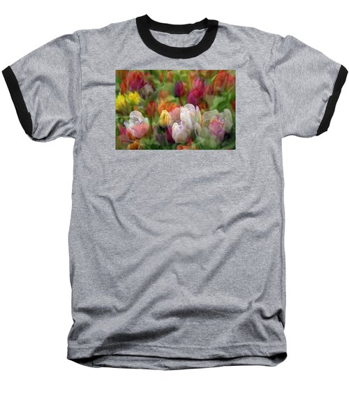 Baseball T-Shirt featuring the photograph Tulips by Penny Lisowski