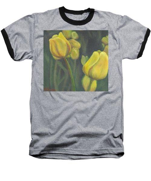 'tulips Stand' Baseball T-Shirt