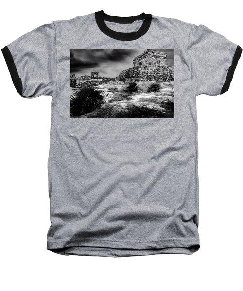 Tulum Ruin Baseball T-Shirt