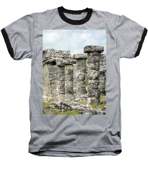 Baseball T-Shirt featuring the photograph Tulum by Silvia Bruno