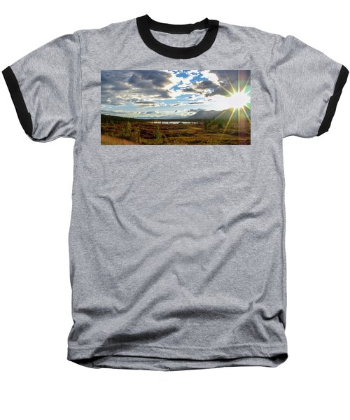 Tundra Burst Baseball T-Shirt