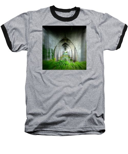 Tunnel Effect Baseball T-Shirt by Nick Kloepping