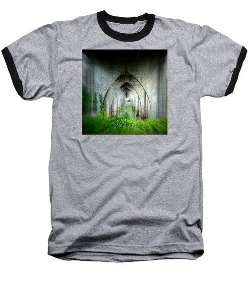 Tunnel Effect Baseball T-Shirt by Nick Kloepping