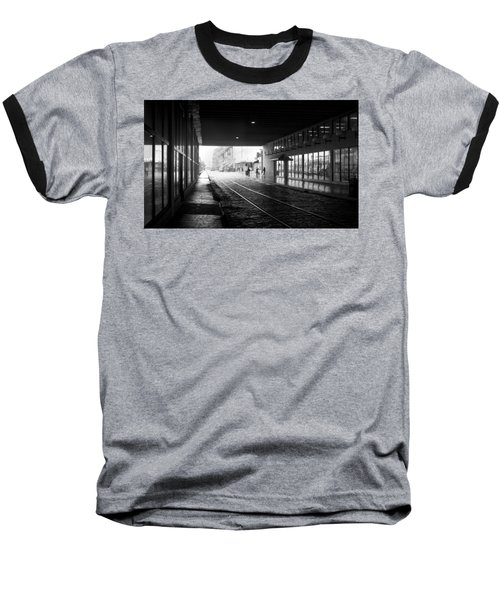 Baseball T-Shirt featuring the photograph Tunnel Reflections by Lynn Palmer