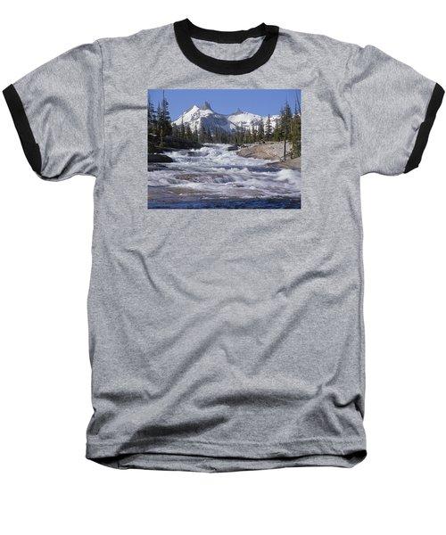 6m6539-tuolumne River  Baseball T-Shirt