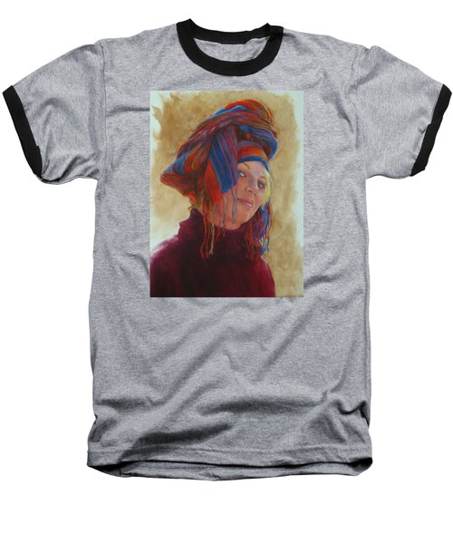 Turban 2 Baseball T-Shirt by Connie Schaertl