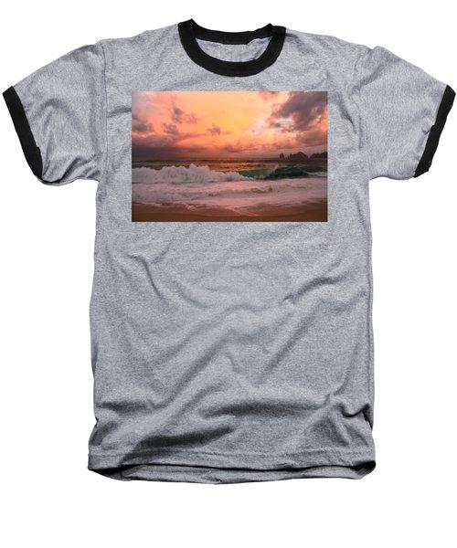 Baseball T-Shirt featuring the photograph Turbulence  by Eti Reid