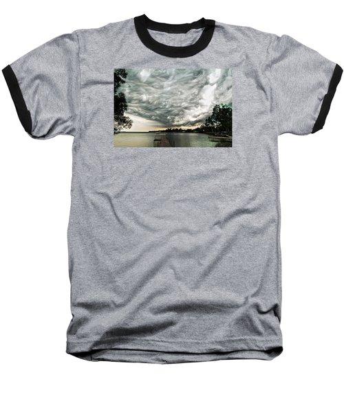 Turbulent Airflow Baseball T-Shirt