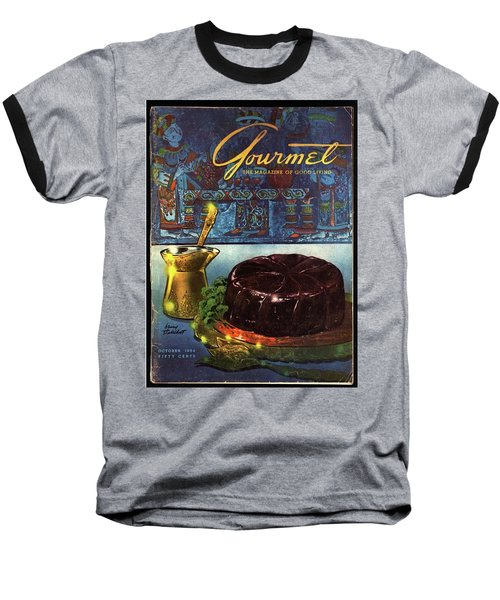 Turkish Eggplant Moussaka Baseball T-Shirt