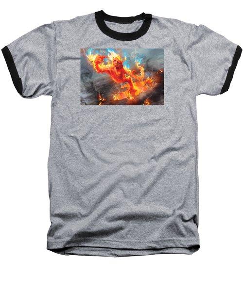 Turn Baseball T-Shirt