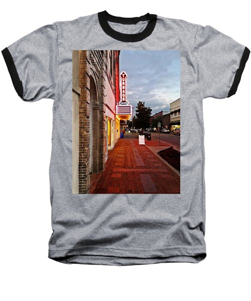 Turnage Theater Grand Opening Baseball T-Shirt