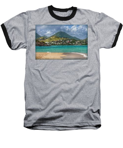 Baseball T-Shirt featuring the photograph Turquoise Paradise by Hanny Heim