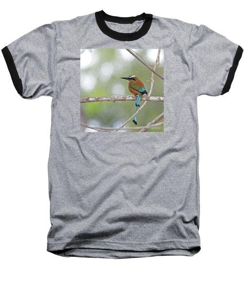 Turquoise Pendant.. Baseball T-Shirt by Nina Stavlund