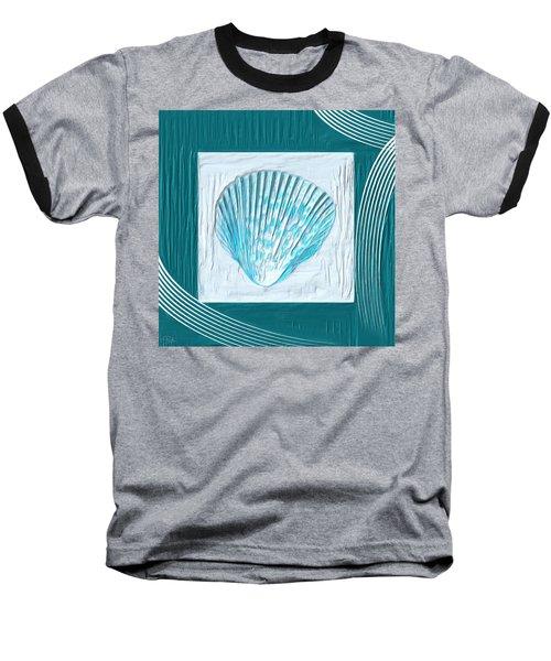 Turquoise Seashells Xxiii Baseball T-Shirt