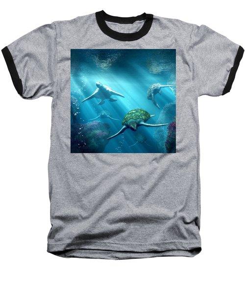 Turtle Alley Baseball T-Shirt