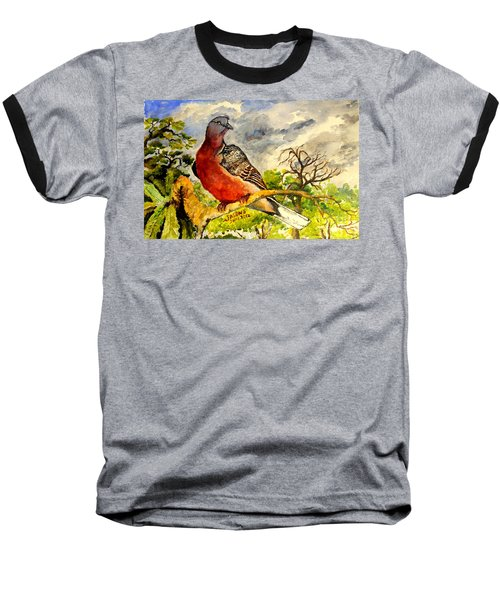 Turtle - Dove Baseball T-Shirt