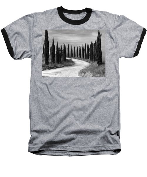 Tuscan Cedars Baseball T-Shirt by Hugh Smith