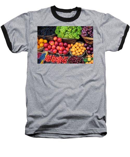 Tuscan Fruit Baseball T-Shirt