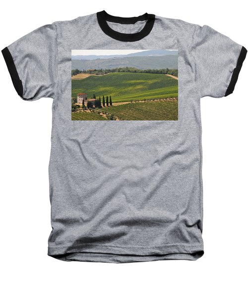 Tuscan Hillside Baseball T-Shirt