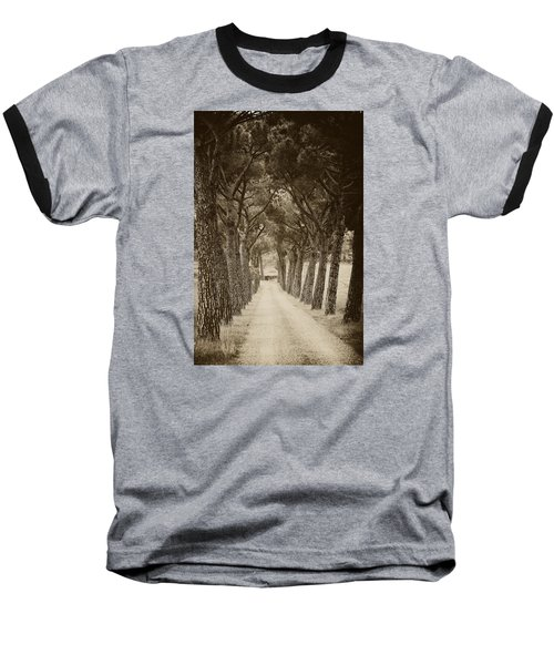Baseball T-Shirt featuring the photograph Tuscan Pines by Hugh Smith