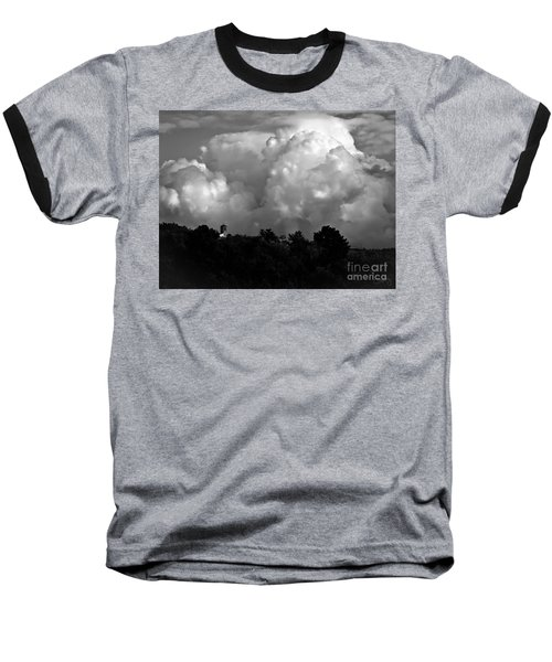 Tuscan Storm Rising From The Valley Baseball T-Shirt