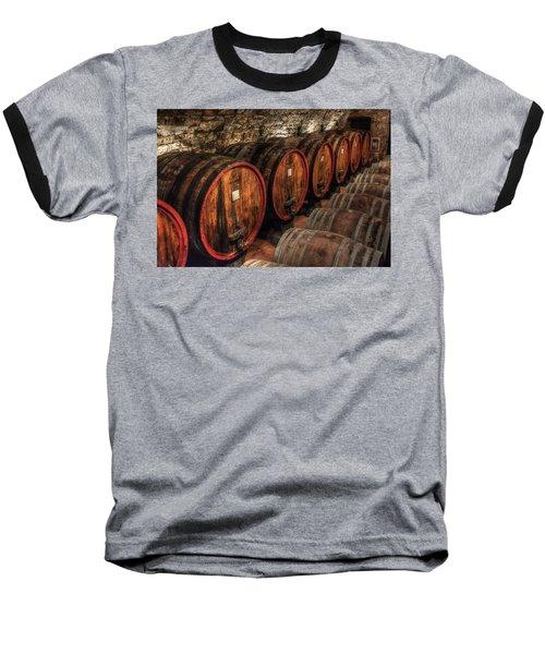 Tuscan Wine Cellar Baseball T-Shirt