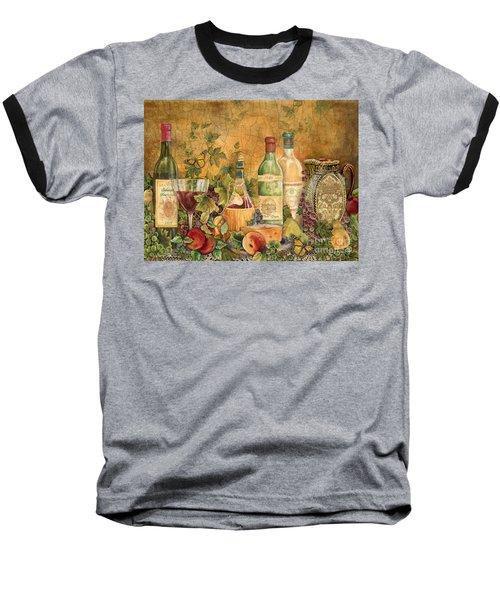 Tuscan Wine Treasures Baseball T-Shirt