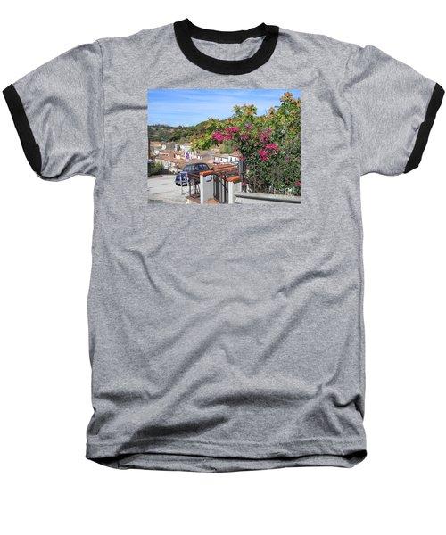 Tuscany Hills Baseball T-Shirt by Ramona Matei