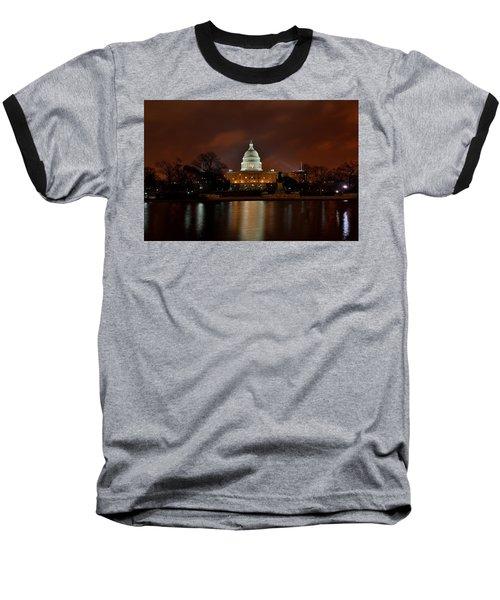 Twilight At The Capitol Baseball T-Shirt