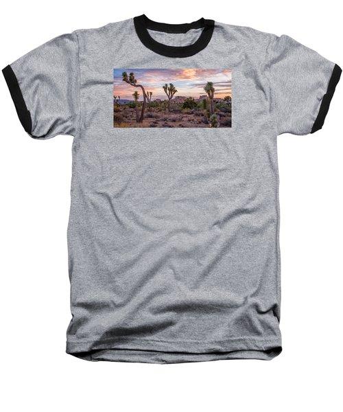 Twilight Comes To Joshua Tree Baseball T-Shirt