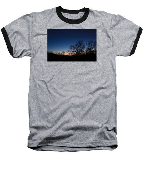 Baseball T-Shirt featuring the photograph Twilight Dream by Julie Andel