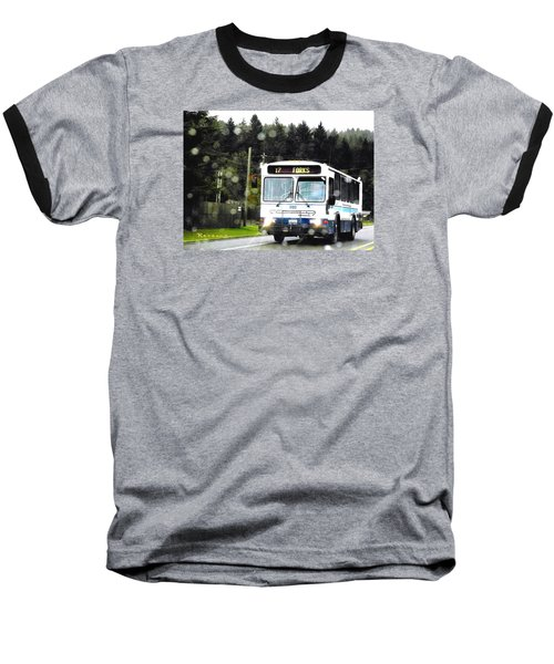 Baseball T-Shirt featuring the photograph Twilight In Forks Wa 1 by Sadie Reneau